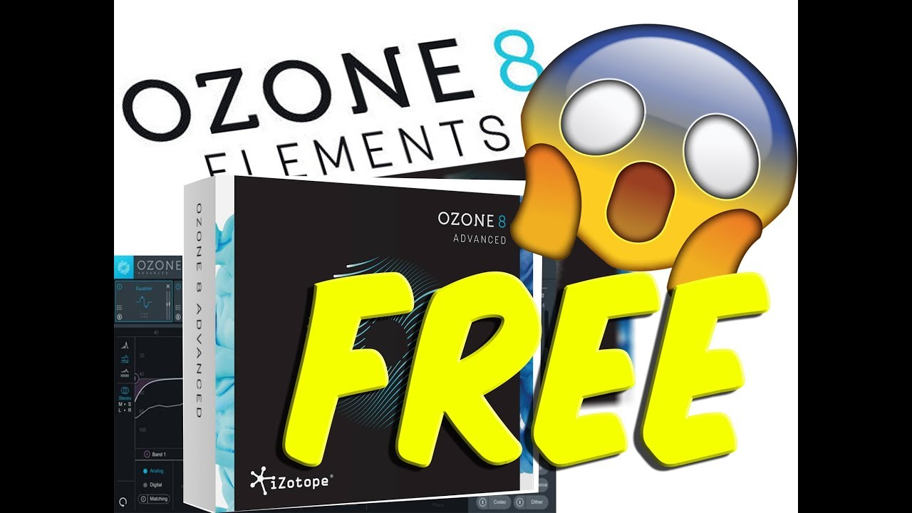 Ozone 8 Elements FOR FREE! FREE CODE FIRST COME