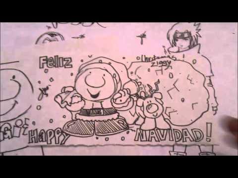 Asi Dibujo Kawaii Cartoons ZIGGY GIF NAVIDEÑO  x db