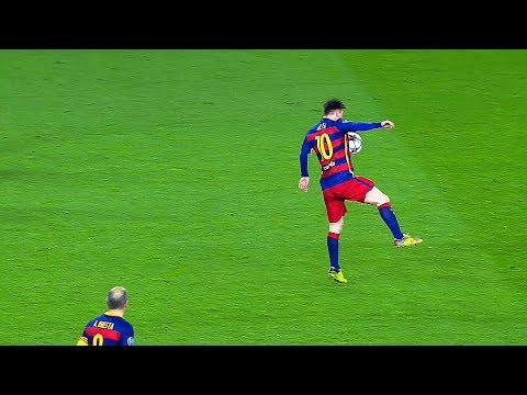 10 Impossible Ball Controls Only Lionel Messi Can Do in Football ● Touch of Genius ||HD||