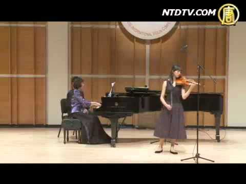 Nancy Zhou plays Butterfly Lovers Violin Concerto 周穎 梁祝小提琴協奏曲