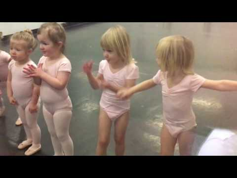 Toddler Ballet Class, Twin Terror at PSAB Portsmouth, NH