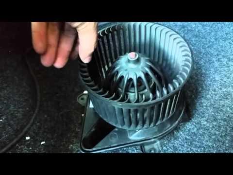 Kachel ventilator en weerstand. - YouTube