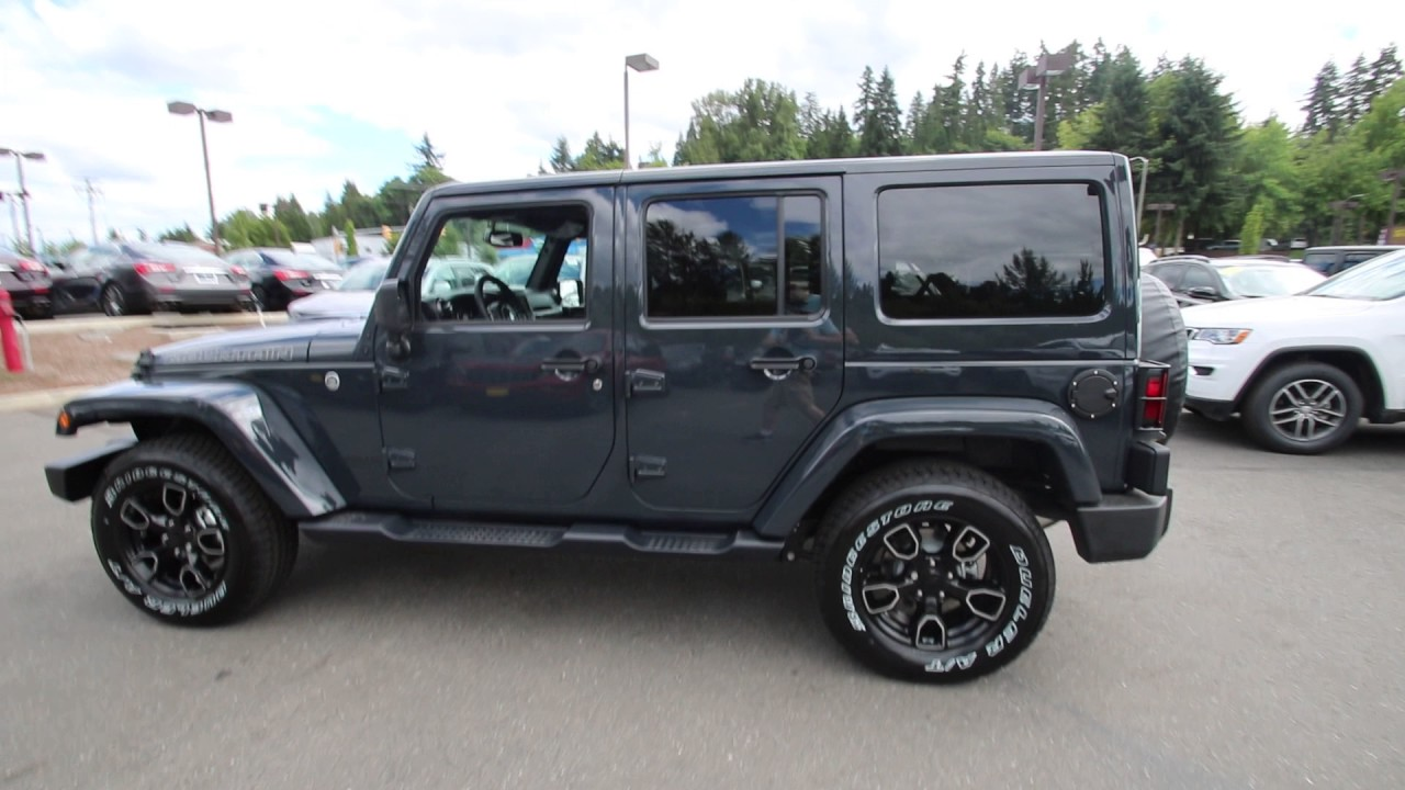 Chrysler Dodge Jeep Ram Of Seattle >> 2017 Jeep Wrangler Unlimited | Rhino Clearcoat | HL688873 ...