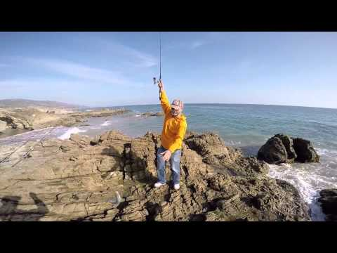 My Friend Mihai Fishing in Malibu