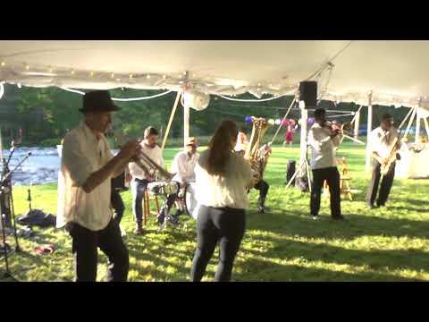New York City Brass Brothers Plays At The Wedding Of Valerie And Mark 9-17-17