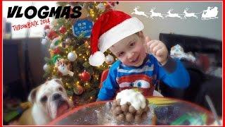 VLOGMAS 2014   #THROWBACK   ZAC'S CHOCOLATE ORANGE CHRISTMAS CRAFT