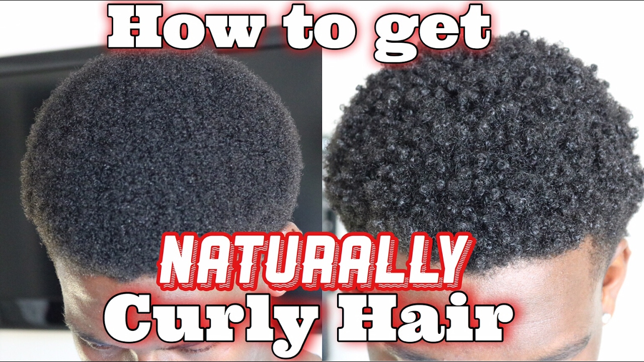 How To Get Curly Hair Naturally Men
