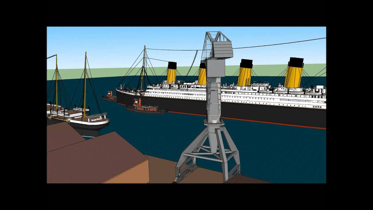 r m s titanic s s city of new york youtube. Black Bedroom Furniture Sets. Home Design Ideas