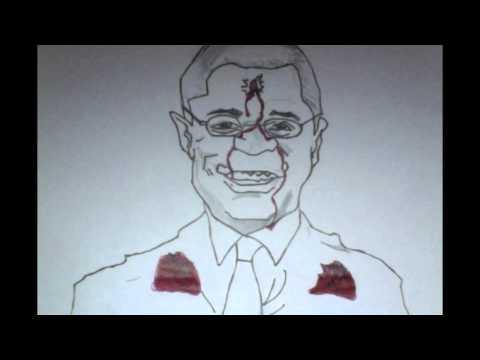 mayor Sly james Protestor cartoon
