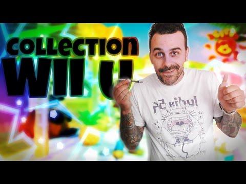 Toute ma collection jeux vidéo sur wii u