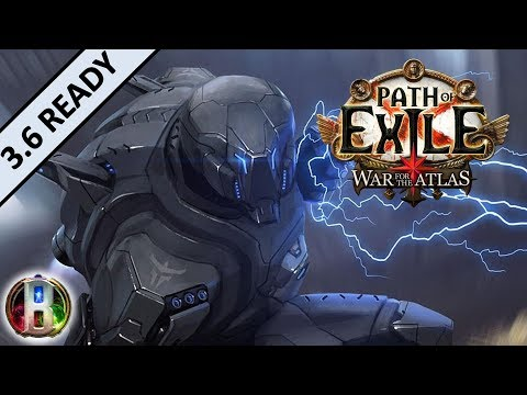 [3.4] Lightning Strike Build - Raider Ranger - Path of Exile War For The Atlas - Delve