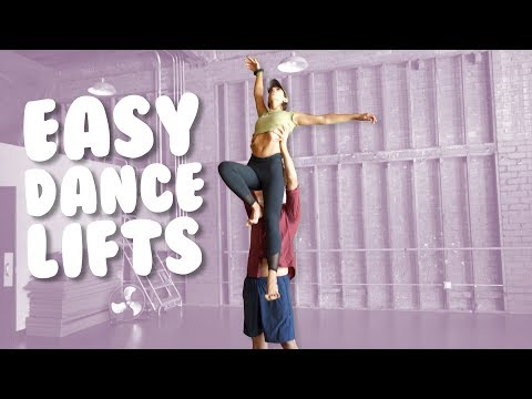 5 Easy Dance Lifts & Partnering I Tutorial with @MissAuti