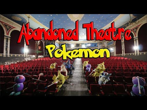 Exploring Abandoned Pokemon Theatre!!!