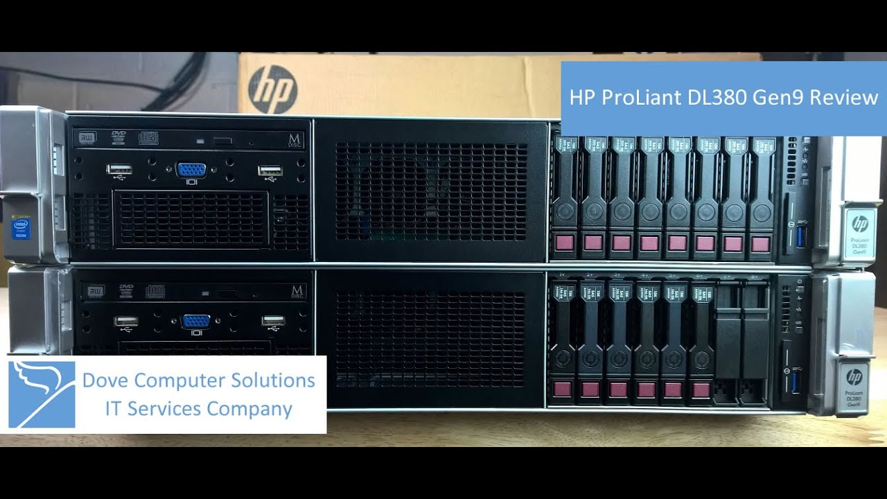 Hp Proliant Dl380 Gen9 Rack Server Quick Review 4k Youtube