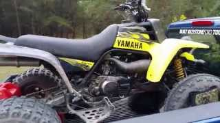 How to Blow Up A Yamaha Banshee