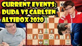 Current Events: Duda vs Carlsen Altibox Norway Chess (2020)