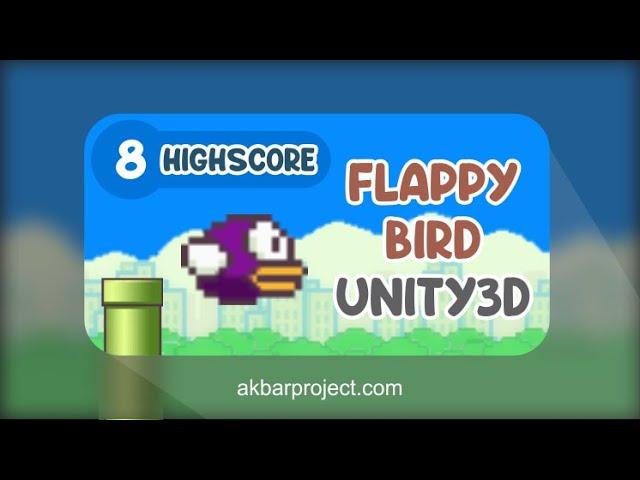 Tutorial Membuat Game Flappy Bird Dengan Unity (Part 8) - Skor Akhir dan Highscore
