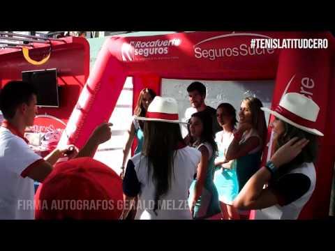 Firma de autógrafos Gerald Melzer - Seguros Sucre