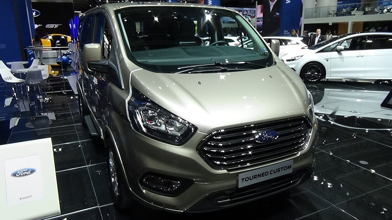 Tourneo Courier 2018 >> 2018 Ford Tourneo Custom - Exterior and Interior - IAA Frankfurt 2017 - YouTube