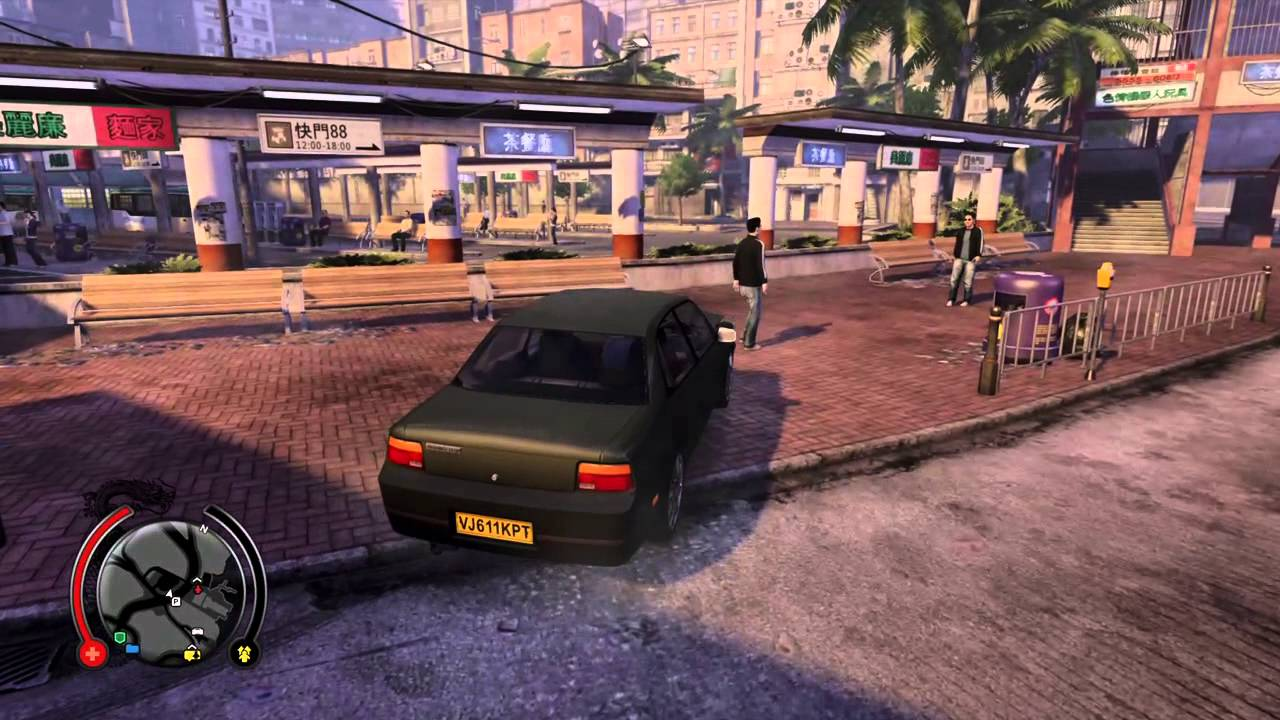 Sleeping Dogs Definitive Edition Ps4 Driving Cars Buses Youtube