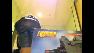 Recensione V-66-Uzi della villa a molla giocattolo (non adatto al soft air)