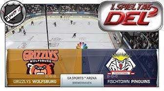 NHL 17 DEL SAISON [Deutsch/German] #001 - Auftakt in Bremerhaven ★ Let's Play NHL