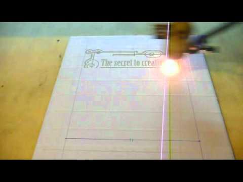 Laser Engraving A Ceramic Tile Youtube