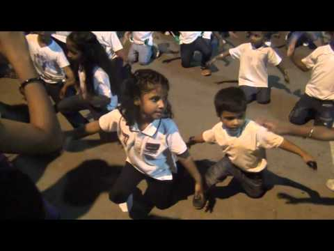 Flash Mob by Kids - Vruksha International School of Montessori - Recorded by Parent