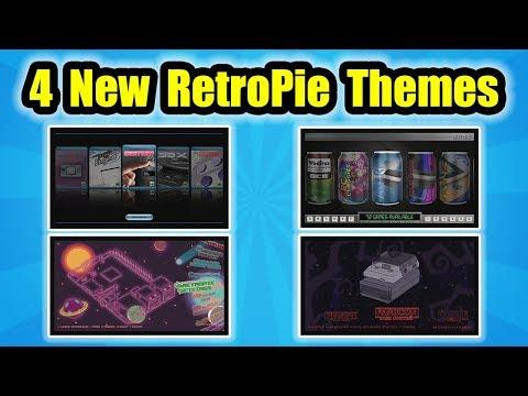 4 Awesome RetroPie Emulation Station Themes!