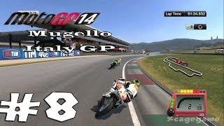 Moto GP 14 - Career Mode Walkthrough Part 8 - Mugello Italy GP  Gameplay [ HD ]