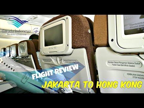 Flight Review Garuda Indonesia GA 860 | Jakarta to Hong Kong | Airbus A330-200 | October 2017