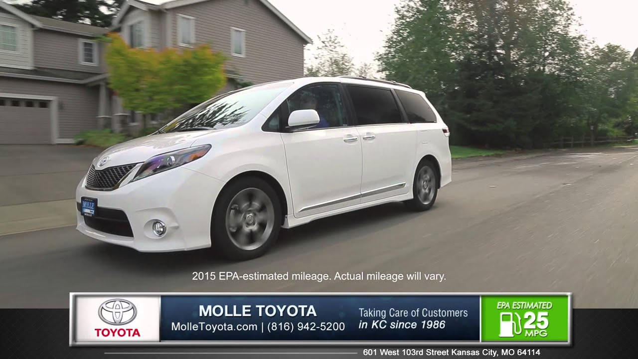 Wonderful 2015 Toyota Sienna Walk Around   Kansas City, MO | Molle Toyota