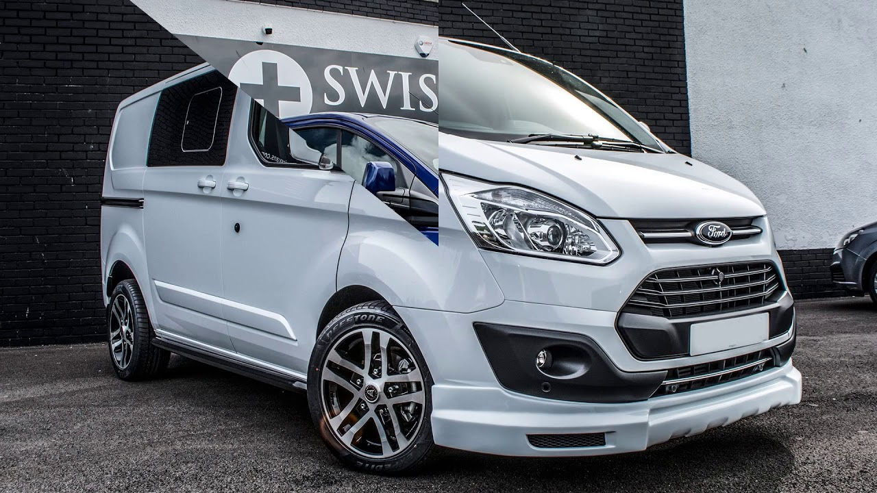 Ford Tourneo Custom 2018 >> Ford Transit Custom Double Cab In Van Sport WASP 2017 - YouTube
