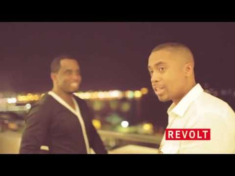 REVOLT TV: Diddy and Nas in Cannes