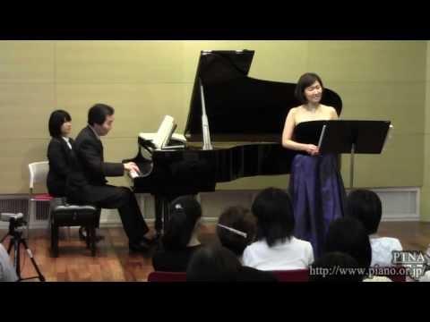 Schubert, Franz: Ave Maria,D 839,Op.52 No.6 Pf. 岡原慎也 Sop.老田裕子