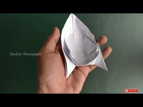 How to make  a Paper Speed Boat ?