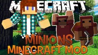 Escravos Para Minerar - Minecraft Mod 1.5.2  Minions