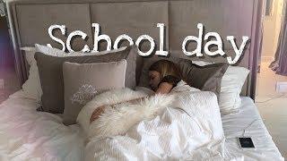 Мой Школьный День | Один День Со Мной | Делаю Уроки