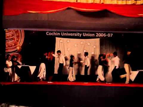 Nostalgia performance by CS on btech arts...