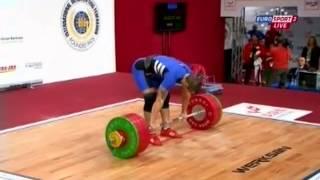 Мужчины 85 кг Толчок ЧМ-2013