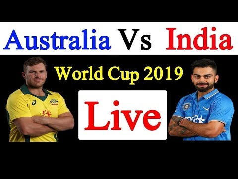 INDIA VS AUSTRALIA Live MATCH ON HOTSTAR| Today Cricket Match | World Cup 2019 | #CWC19