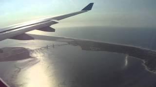 Aerolineas Argentinas A 330-200 landing JFK