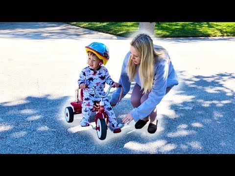 Jackson's First Bicycle (Warning: Cuteness Overload!)