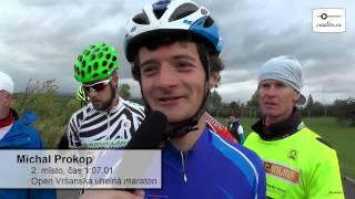 O vítězi Open Vršanská uhelná maratonu rozhodla novinka