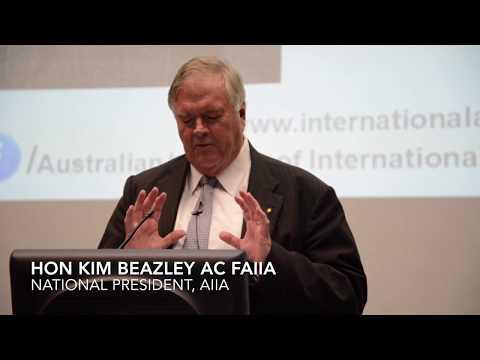 Kim Beazley 31 May 2016
