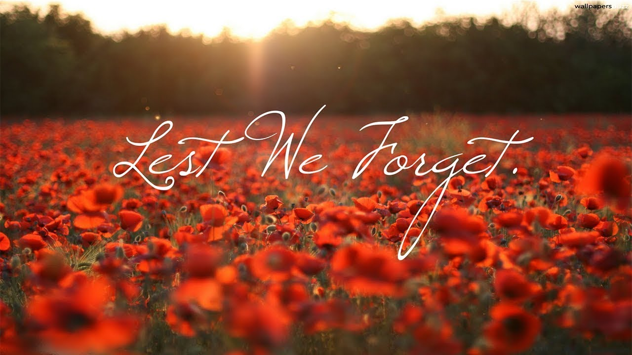 Lest We Forget - Remembrance 2017 WW1 TO PRESENT DAY. ZERO FOXTROT