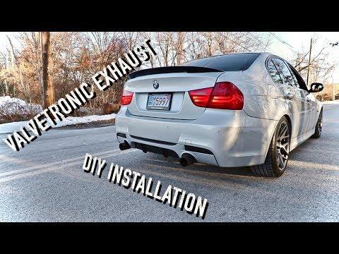 BMW 335i Valvetronic Designs Exhaust Install DIY for E90/E92