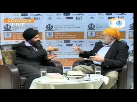 Business mentor Ron G Holland  interviewed on Sikh TV