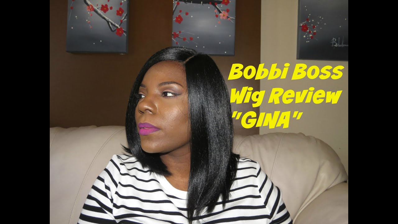 Bobbi Boss Gina Wig Review Spring Summer Hair Re Upload Youtube