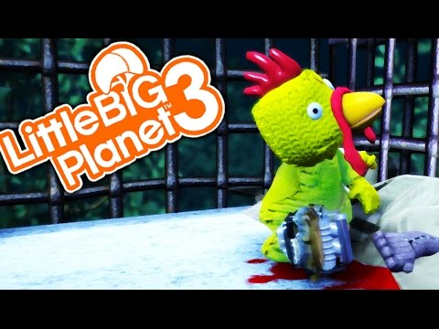 THE CHICKEN MAN! | Little Big Planet 3 Multiplayer (82)